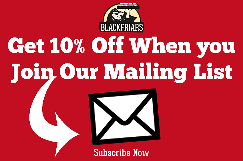 10% off mailing list