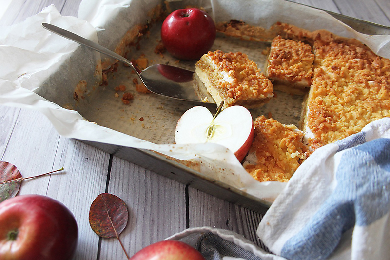 Toffee Apple Shortcake