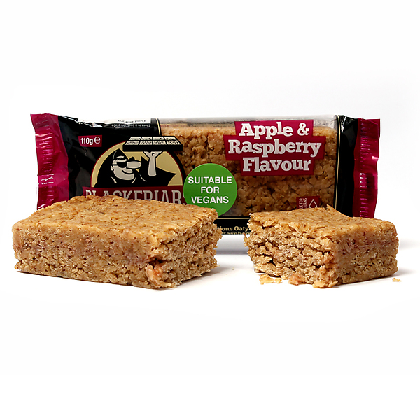 Apple & Raspberry Flapjack