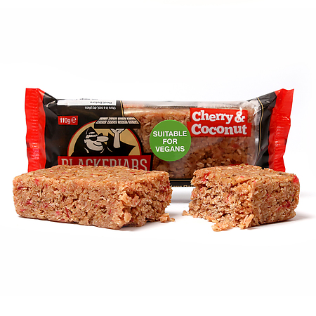Cherry & Coconut Flapjack